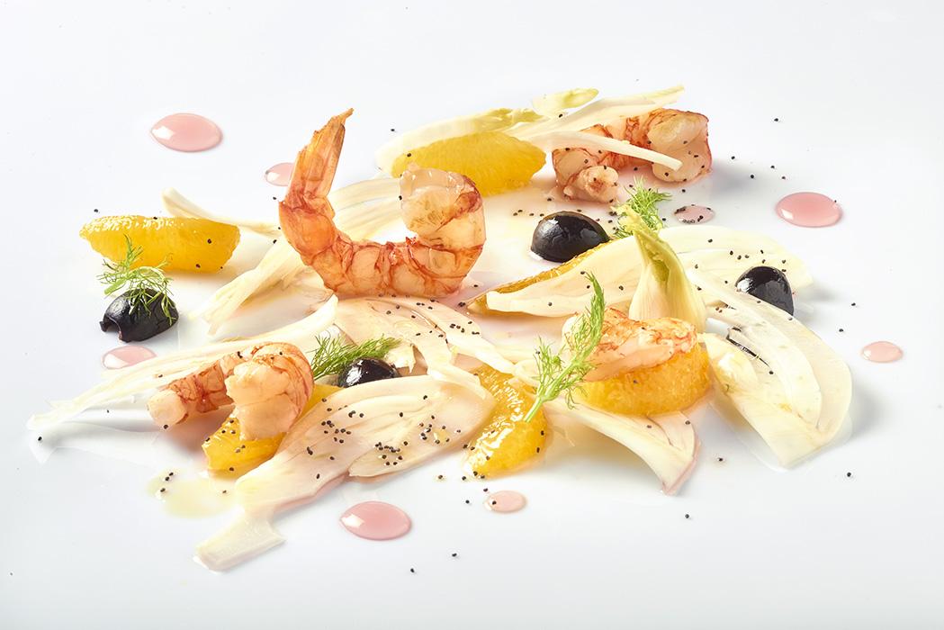 Aceto Balsamico Antica Modena - Finocchi e arancia con condimento rosè
